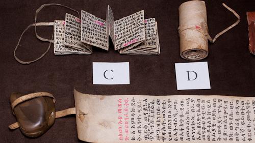 Various scrolls